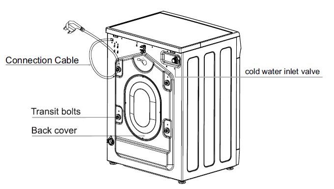 Kogan 8kg Front Load Washing Machine - (KAGFLWASH8A) - Manual ... on